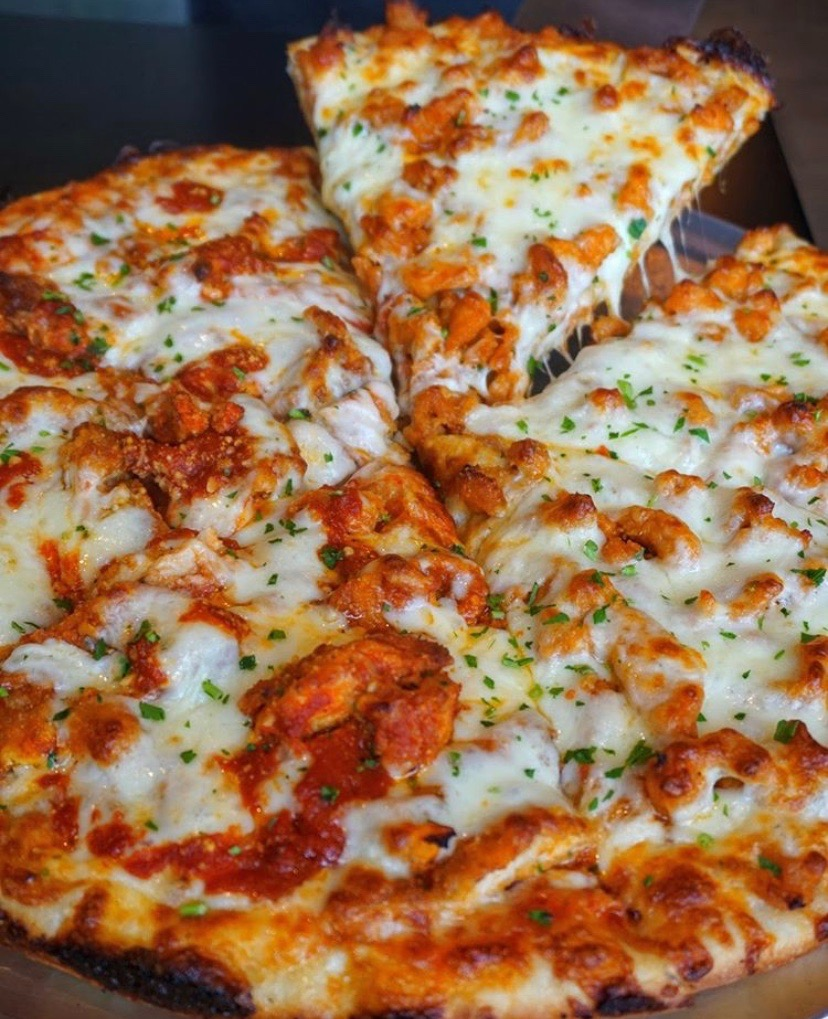 A Pizza from Gino's Pizzeria