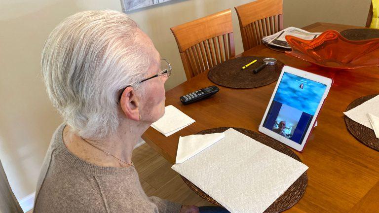Bubbe's iPad